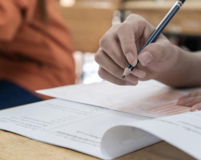 student giving entrance exams the eddtalk news | Common Entrance Test