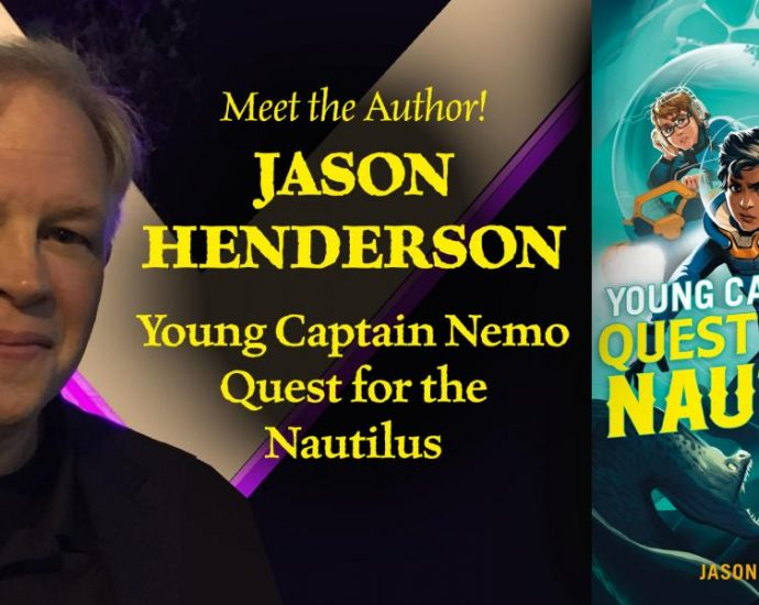 Best Selling Author Jason Henderson writer of Young Captain Nemo Book