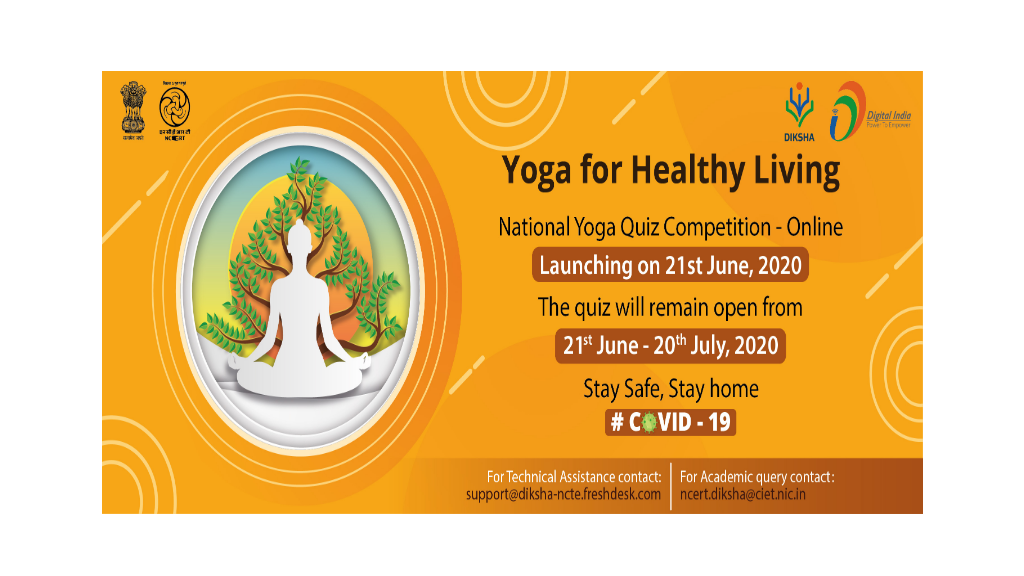 Online Yoga Quiz Competition 2020 by NCERT